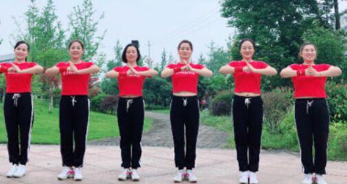 燕燕舞蹈《宝贝再来一次》附正背面口令分解教学演示