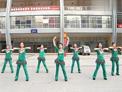 重庆葉子广场舞 自由自在 附背面演示