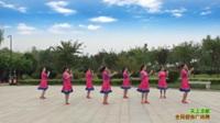 陕西华阴彩虹舞蹈队广场舞 天上凉都 表演 团队版