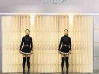 驿城区微笑广场舞《我的男神》原创舞蹈 附正反面演示及分解动作教学