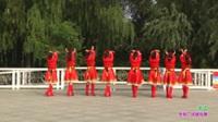 郑州市女人花舞蹈队广场舞《天边》原创舞蹈 表演 团队版