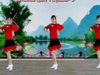 蝶舞芳香广场舞《远走高飞》原创舞蹈 正背面演示及口令分解动作教学