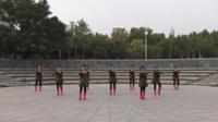 郑州阳光文艺团二队广场舞《中国梦》原创舞蹈 表演 团队版