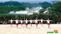 陕西华阴罗敷女舞蹈队广场舞 甜蜜蜜 表演 团队版