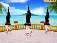 鄂州益馨广场舞《远走高飞》原创32步步子舞 附口令分解动作教学演示