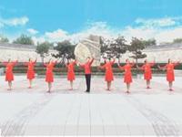 广西廖弟原创健身舞 《美好新时代 》 正背表演与动作分解 团队版