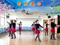 清盈百合广场舞《扎西德勒》原创圈舞 附教学口令分解动作演示