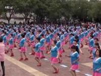 茉莉广场舞《爱是陪伴》第四届千人舞风采展 附口令分解动作教学演示