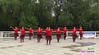 郑州市非常开心姐妹一队广场舞《张灯结彩》原创舞蹈 团队版表演表演