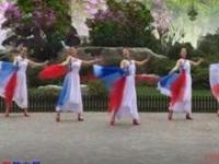 芳华岁月舞蹈《祖国是我永远的家》原创舞蹈 附教学口令分解动作演示