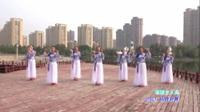 蒙城坛城青春丽美健身队广场舞《谁懂女人花》原创舞蹈 表演 团队版