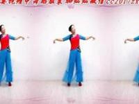 金灿灿广场舞《雨中的回忆》原创舞蹈 正背面口令分解动作教学演示