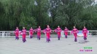 郑州市跳跳乐开心舞蹈队广场舞《张灯结彩》原创舞蹈 表演 团队版