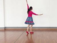 贺月秋广场舞《最舞天下》原创舞蹈 附口令分解动作教学演示