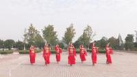 安徽池州快乐舞缘健身队广场舞《丝绸之路》原创舞蹈 表演 团队版