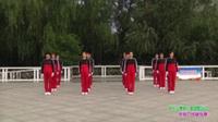 郑州市梦之队1队广场舞《快乐之舞第八套摆髋运动》原创舞蹈 表演 团队版