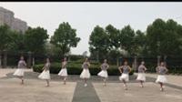 连云港秋之韵队广场舞《爱江山更爱美人》原创 正背表演与动作分解 团队版