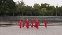 郑州灵动女人花广场舞《水月亮》原创舞蹈 表演 团队版