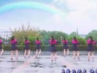 茉莉广场舞《舞动宁波》原创现代舞 正背面口令分解动作教学演示