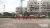 武漢黃陂橫店百花村蓉蓉舞蹈隊廣場舞《天越藍我就越想你》表演 團隊版