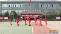 陕西华州东阳街道快乐姐妹舞蹈队广场舞 情歌赛过春江水  表演 团队版