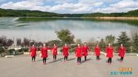 陕西华州赤水沙弥舞蹈队广场舞《雨打芭蕉》原创舞蹈 表演 团队版