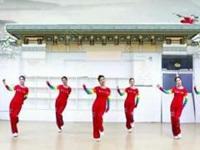 刘荣广场舞《欢乐中国欢乐家》原创舞蹈 正背面演示及口令分解动作教学