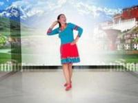 往事如风广场舞《金珠玛米》原创舞蹈 附正背面口令分解动作教学演示