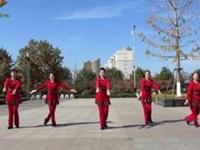 沭河之光广场舞《纳木措》原创广场健身舞 附口令分解动作教学演示