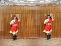 大建明子广场舞《金珠玛米》原创舞蹈 附正背面口令分解教学演示