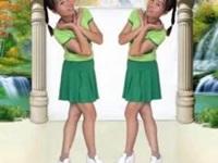 抚州雨欣缘广场舞《为我加油》编舞珊珊 附正背面口令分解动作教学演示