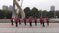 郑州南区女人花舞蹈二队广场舞 相伴一生 表演 团队版
