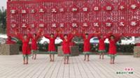 河南省周口市沈丘县北城小辛营广场舞  拜新年 表演 团队版