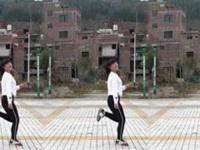 湖北燕子广场舞《远走高飞》编舞晓杰 29步曳步舞 正背面演示