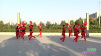 新乡县固军女子舞队广场舞 张灯结彩 表演 团队版