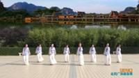 陕西华州新华舞蹈队广场舞 雨打芭蕉  表演 团队版