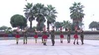 湖南省岳阳洞庭舞蹈队 锡林郭勒的星星 表演 团队版