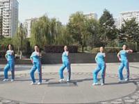 为舞疯狂舞蹈《唱着情歌流着泪》原创舞蹈 正背面口令分解动作教学演示