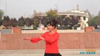 陕西华州高塘朱张轻舞飞扬舞蹈队广场舞 雨打芭蕉 表演 团队版