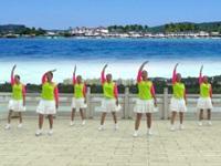 云南紅火把廣場舞《我們都愛廣場舞》原創舞蹈 正背表演 團隊版