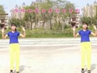 珍儿广场舞《不要停》原创健身操 正背面演示