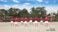 陕西华州大明水渠小田舞蹈队广场舞 雨打芭蕉  表演 团队版