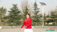 陕西华州步背后花大姐舞蹈广场舞《雨打芭蕉》表演 团队版