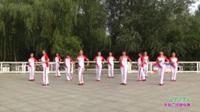 鄭州市開心快樂舞蹈隊廣場舞 火了火了火 表演 團隊版