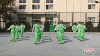 河南省西華縣女媧腰鼓隊廣場舞  最幸福的人 表演 團隊版