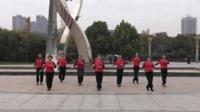 郑州南区女人花舞蹈二队广场舞 爱你一生 表演 团队版