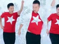 王廣成廣場舞《圣誕節》王廣成老師祝您快樂 正背面演示