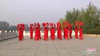 河南省项城市真真舞蹈队广场舞   张灯结彩 表演 团队版