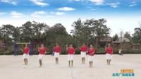 陕西华州大明魅力上河舞蹈队广场舞  雨打芭蕉  表演 团队版