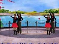 冰璐广场舞《梦中的唐古拉》原创水兵舞 正背面演示